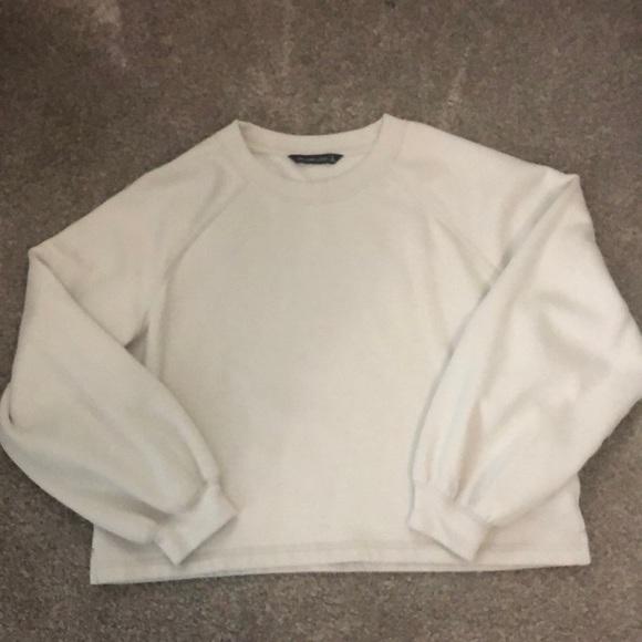 Abercrombie & Fitch Puff Sleeve Sweatshirt